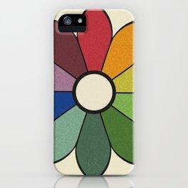 James Ward's Chromatic Circle (no background) iPhone Case