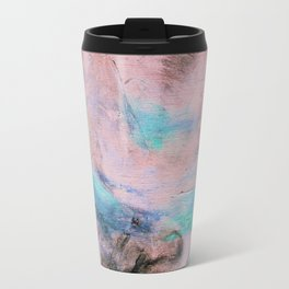 Modern Abstract Art Peaceful Landscape Travel Mug