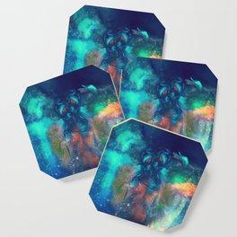 Cosmic Twins Coaster