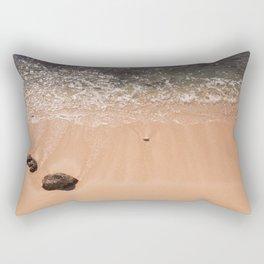 Gentle Waves Rectangular Pillow