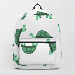 Turtles Pattern Backpack