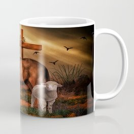 The Lion And The Lamb Coffee Mug