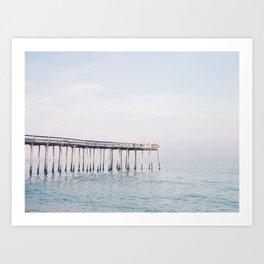 Ocean Pier Art Print