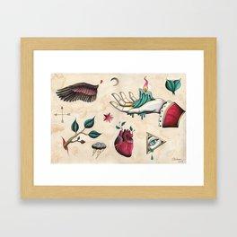 Flash Sheet #1 Framed Art Print