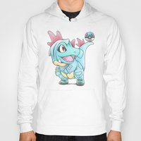 projectrocket Hoodies featuring Caught in a DILEma by Randy C