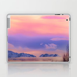 Alaskan Winter Fog Digital Painting Laptop & iPad Skin