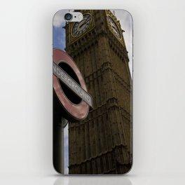 London Underground at BigBen iPhone Skin
