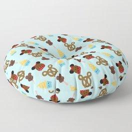 Snack Goals Theme Parks Floor Pillow