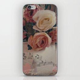 Roses & Music ... iPhone Skin