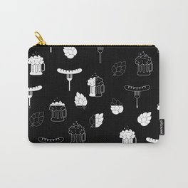 beer sausages pattern Carry-All Pouch