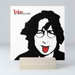 John Tongue Art Mini Art Print