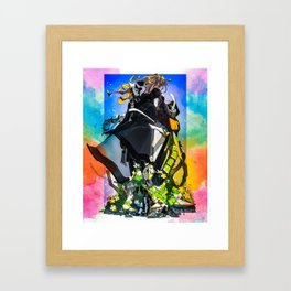 Made in Abyss Ozen and Lyza Framed Art Print