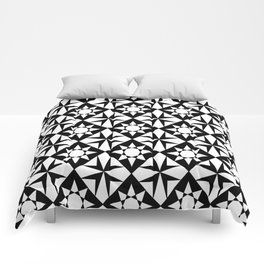 black and white symetric patterns 7- Comforters
