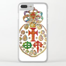 Medallion - Portuguese Jewelry Clear iPhone Case