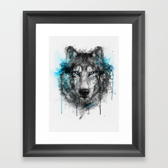 Alpha. Framed Art Print