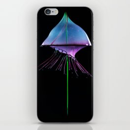 Blue Jelly Fish iPhone Skin