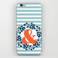 ampersand iPhone & iPod Skins featuring ampersand by ArigigiPixel