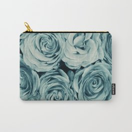 Vintage Blue Carry-All Pouch
