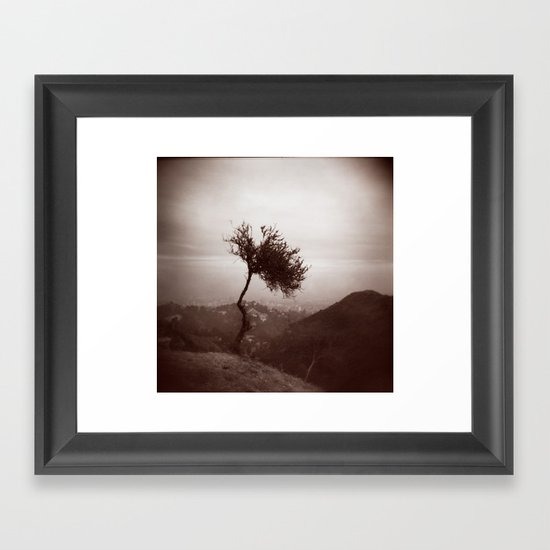 Lonely Tree Framed Art Print