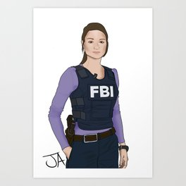 Special Agent Argent Art Print