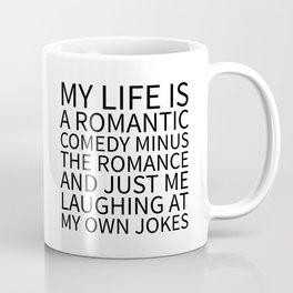 Romantic Comedy (White) Coffee Mug