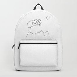Bus to the moon Backpack