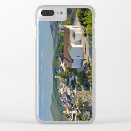 Marvao, medieval walled town, Portugal Clear iPhone Case