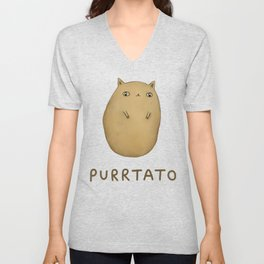 Purrtato Unisex V-Neck