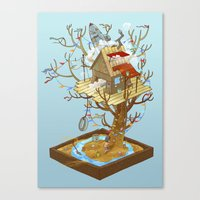Dream Playground Canvas Print