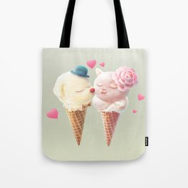 Ice Cream Love Tote Bag