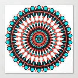 Native American Mandala Canvas Print