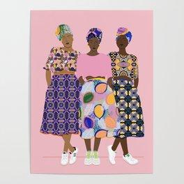 GIRLZ BAND Poster