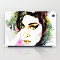 amy hamilton iPad Cases featuring AMY by Ryan Huddle House of H