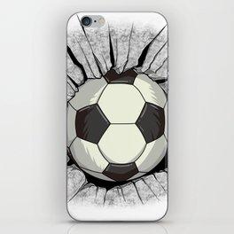 World Football Wall Breakout Cup Shirt Jersey Gift iPhone Skin