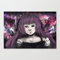 vocaloid Canvas Prints featuring Vocaloid - Luka Mentalism by MangoTango