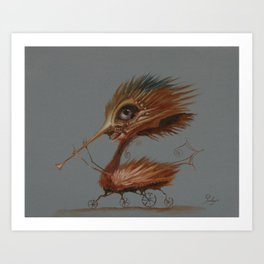 The Pied Piper of Hamelin Art Print