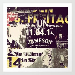 Jameson Irish Whiskey Art Print
