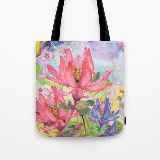 Macro Flower #20 Tote Bag