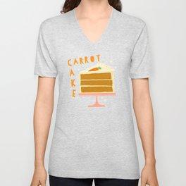 All American Classic Carrot Cake Unisex V-Neck