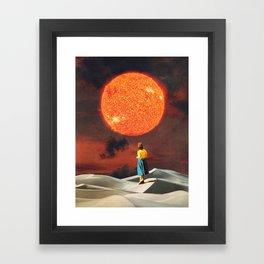 Your Heart Is The Sun Framed Art Print