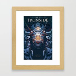 Ole Ironside Framed Art Print
