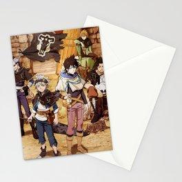 Black Bulls Black Clover Stationery Cards