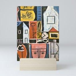 12,000pixel-500dpi - Constructive Painting 1932 - Joaquin Torres Garcia Mini Art Print