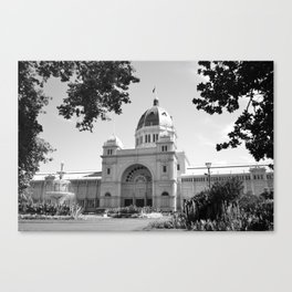 Melbourne monochrome viii Canvas Print