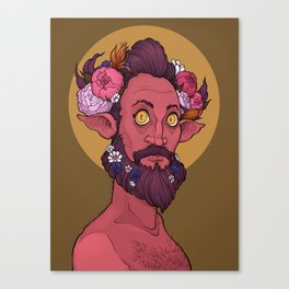 Goddamn hipster boys Canvas Print