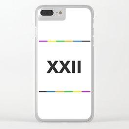 XXII BIG Clear iPhone Case