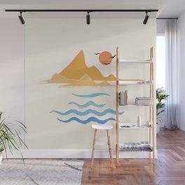 Minimalistic Summer III Wall Mural