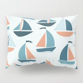 Sailboats Pillow Sham