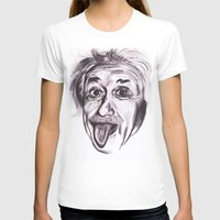 einstein T-shirts featuring Einstein by Alicia Evans