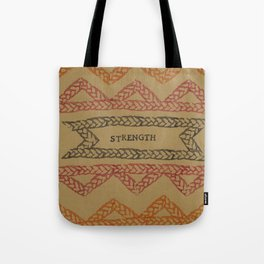 STRENGHT ELM THE PERSON Tote Bag